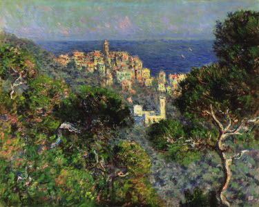 """View of Bordighera"" by Claude Monet; Hammer Museum, Los Angeles"